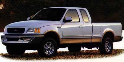 1997 Ford F-250 Lariat Four Wheel Drive Tow Hooks Tires - Front All-Season Tires - Rear All-Seas