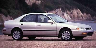 1997 Honda Accord Sdn LX Front Wheel Drive Wheel Covers Steel Wheels Power Steering 4-Wheel Dis