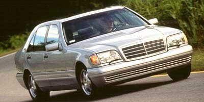 1997 Mercedes S-Class S320 Traction Control Rear Wheel Drive Tires - Front All-Season Tires - Re
