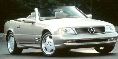 1997 Mercedes SL-Class 2DR ROADSTER 60L Traction Control Stability Control Rear Wheel Drive Act