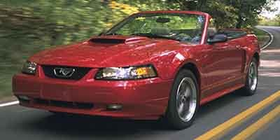 2001 Ford Mustang  Rear Wheel Drive Tires - Front Performance Tires - Rear Performance Aluminum
