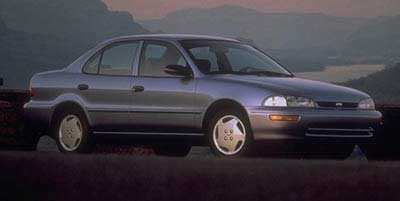 1997 Geo Prizm Base Front Wheel Drive Tires - Front All-Season Tires - Rear All-Season Steel Whe