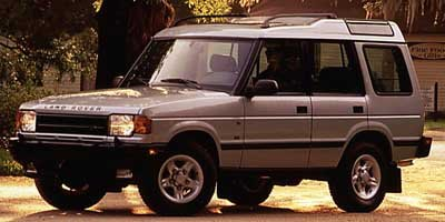 1997 Land Rover Discovery  Four Wheel Drive Aluminum Wheels Conventional Spare Tire Power Steeri