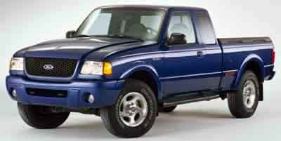 2001 Ford Ranger XLT Rear Wheel Drive Tires - Front All-Season Tires - Rear All-Season Conventio