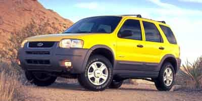 2001 Ford Escape XLT Four Wheel Drive Four Wheel Drive Tires - Front All-Season Tires - Rear All