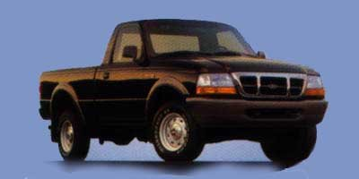 1998 Ford Ranger XL Rear Wheel Drive Tires - Front All-Season Tires - Rear All-Season Convention
