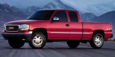 2001 GMC Sierra 1500 SLE Ext Cab 4WD 4x4 Four Wheel Drive Tow Hooks Tires - Front All-Season Ti