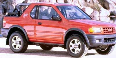 1998 Isuzu Amigo 2DR CONV MT Four Wheel Drive Tires - Front OnOff Road Tires - Rear OnOff Road