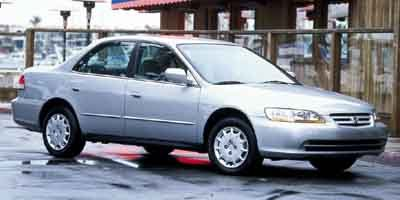 2001 Honda Accord Sdn LX Front Wheel Drive Engine Immobilizer Tires - Front All-Season Tires - R