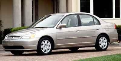 2001 Honda Civic Sedan EX
