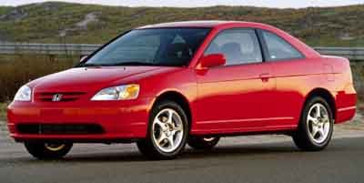 Used 2002 Honda Civic Coupe in Auburn, WA