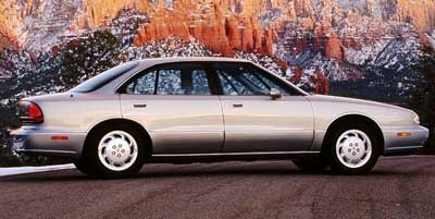 1998 Oldsmobile 88 4DR SDN LS Front Wheel Drive Tires - Front All-Season Tires - Rear All-Season