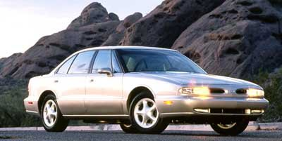 1998 Oldsmobile LSS 4DR SDN Traction Control Front Wheel Drive Air Suspension Tires - Front All-