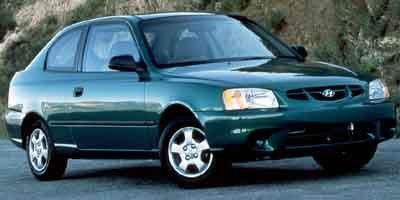 2001 Hyundai Accent GS Front Wheel Drive Tires - Front All-Season Tires - Rear All-Season Tempor