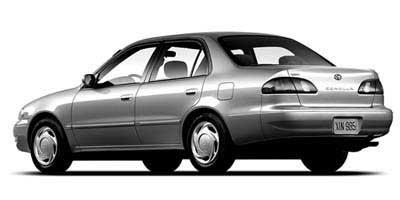 1998 Toyota Corolla 4dr Sdn LE Auto