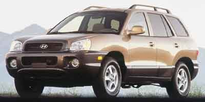 2001 Hyundai Santa Fe GL Front Wheel Drive Tires - Front All-Season Tires - Rear All-Season Alum