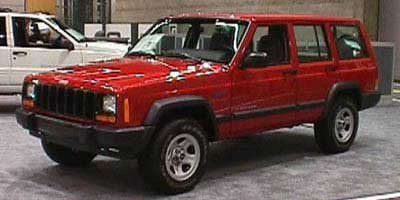 1998 Jeep Cherokee Sport Rear Wheel Drive Tires - Front All-Terrain Tires - Rear All-Terrain Tem