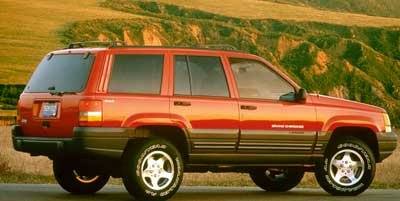 1998 Jeep Grand Cherokee Laredo Four Wheel Drive Tires - Front All-Season Tires - Rear All-Season
