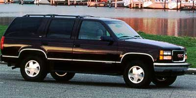 1998 GMC YUKON  Rear Wheel Drive Tires - Front All-Season Tires - Rear All-Season Conventional S