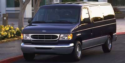 1998 Ford Club Wagon  Rear Wheel Drive Tires - Front All-Season Tires - Rear All-Season Conventi