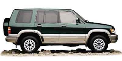 2002 Isuzu Trooper LTD Four Wheel Drive LockingLimited Slip Differential Tow Hooks Tires - Fron