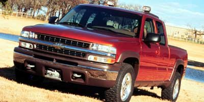 1999 Chevrolet Silverado 1500 LT Ext Cab Long Bed 4WD Four Wheel Drive Tow Hooks Tires - Front A