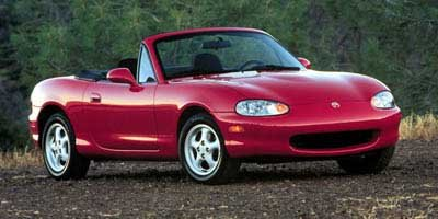 1999 Mazda MX-5 Miata Leather Rear Wheel Drive Tires - Front All-Season Tires - Rear All-Season