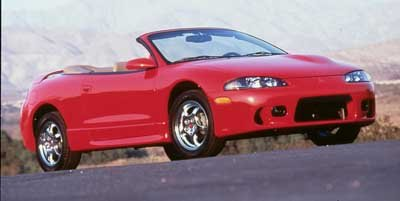 1999 Mitsubishi Eclipse GS-T Turbocharged Front Wheel Drive Tires - Front Performance Tires - Re