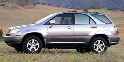 2001 Lexus RX 300  Front Wheel Drive Tires - Front OnOff Road Tires - Rear OnOff Road Aluminum