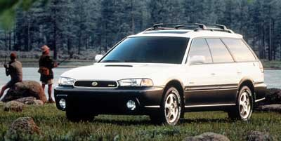 1999 Subaru Legacy Wagon  All Wheel Drive Tires - Front All-Season Tires - Rear All-Season Alumi