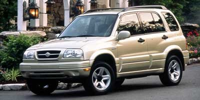 1999 Suzuki Grand Vitara JLX Four Wheel Drive Tires - Front All-Season Tires - Rear All-Season S