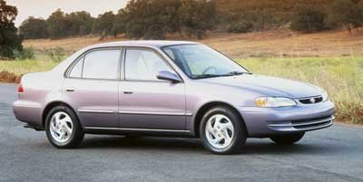 1999 Toyota Corolla VE Front Wheel Drive Tires - Front All-Season Tires - Rear All-Season Tempor