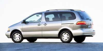 1999 Toyota Sienna LE Front Wheel Drive Tires - Front All-Season Tires - Rear All-Season Convent