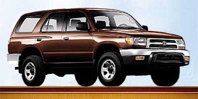 1999 Toyota 4Runner 4DR AT 4WD Four Wheel Drive Tires - Front OnOff Road Tires - Rear OnOff Roa
