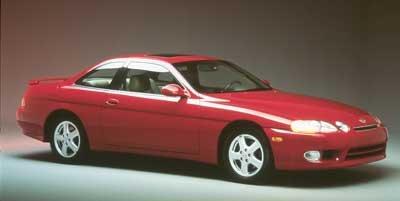 1999 Lexus SC 400 Luxury Sport Cpe 400 Rear Wheel Drive Traction Control Tires - Front Performanc