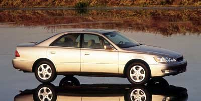 1999 Lexus ES 300 Luxury Sport Sdn 300 Traction Control Front Wheel Drive Tires - Front Performan