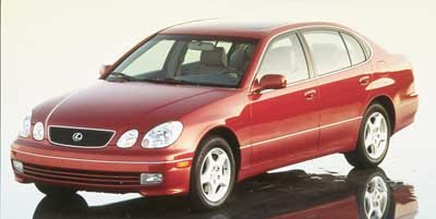 1999 Lexus GS 300 Luxury Perform Sdn 300 Rear Wheel Drive Traction Control Tires - Front Performa