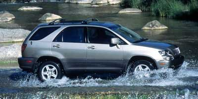 1999 Lexus RX 300 Luxury SUV 300 Four Wheel Drive Tow Hitch Tires - Front OnOff Road Tires - Re