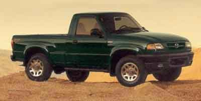 2001 Mazda B-Series 4WD Truck SE Four Wheel Drive Tow Hitch Tires - Front All-Terrain Tires - Re