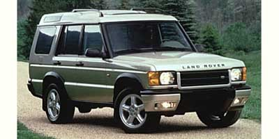 1999 Land Rover Discovery Series II Series II Traction Control Four Wheel Drive Tow Hitch Tires