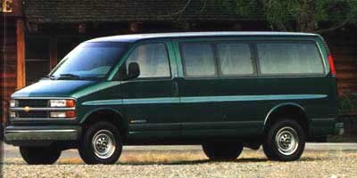 1999 Chevrolet Express Van  Rear Wheel Drive Tires - Front All-Season Tires - Rear All-Season Co