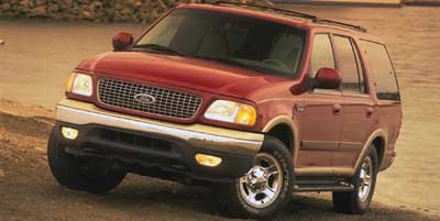 1999 Ford Expedition Eddie Bauer Four Wheel Drive Tow Hooks Tires - Front All-Terrain Tires - Re