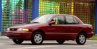 1999 Kia Sephia  Front Wheel Drive Tires - Front All-Season Tires - Rear All-Season Temporary Sp