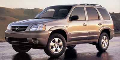 2001 Mazda Tribute ES Front Wheel Drive Power Steering Tires - Front All-Season Tires - Rear All