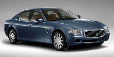 2005 Maserati Quattroporte Sedan 4D LockingLimited Slip Differential Traction Control Stability