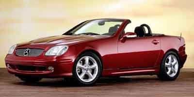 2001 Mercedes SLK-Class Kompressor Supercharged Traction Control Stability Control Rear Wheel Dr