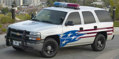 2006 Chevrolet Tahoe Police Vehicle Police