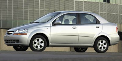 2006 Chevrolet Aveo LT Front Wheel Drive Tires - Front Performance Tires - Rear Performance Alum