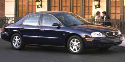 2001 Mercury Sable LS Premium Front Wheel Drive Tires - Front All-Season Tires - Rear All-Season