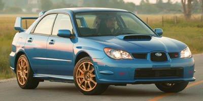 2006 Subaru IMPREZA SEDAN WRX STi Turbocharged LockingLimited Slip Differential All Wheel Drive